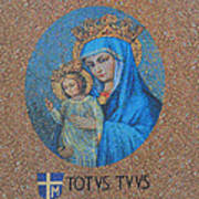 Totvs Tvvs - Jesus And Mary Poster