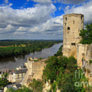 Tour Du Moulin And The Loire River Poster