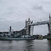 Tower Bridge Open Poster