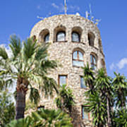 Tower In Puerto Banus Poster