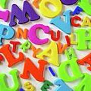 Toy Letters Poster