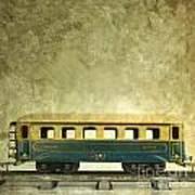 Toy Train Poster by Bernard Jaubert