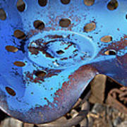 Tractor Seat Close Up Poster