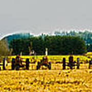 Tractors Ready Poster