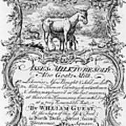 Trade Card: Milk, 1700s Poster