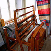 Traditional Weavers Loom Poster