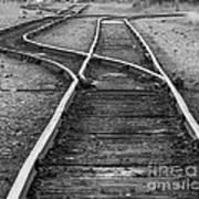 Train Tracks Switch Poster