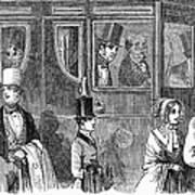 Train Travel: First Class Poster