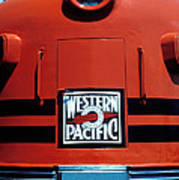 Train Western Pacific Poster by Garry Gay