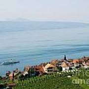 Tranquil Lake Geneva Poster