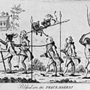 Treaty Of Paris, 1783 Poster
