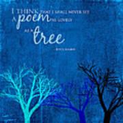 Tree Poem Poster