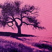 Tree Study 3 Poster