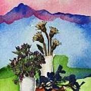 Tres Vasos Poster by Regina Ammerman