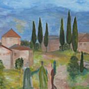 Tres Visitas En Segovia Poster