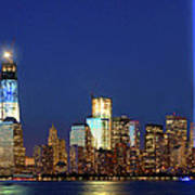 Tribute Of Lights Nyc 2012 Poster