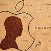 Tribute To Steve Jobs Poster
