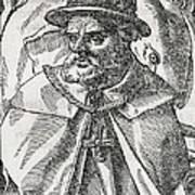 Tristao Da Cunha, Portuguese Explorer Poster by Middle Temple Library