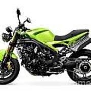Triumph Speed Triple Motorcycle Poster