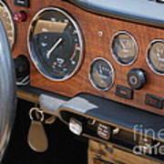 Triumph Tr 6 Dashboard Poster