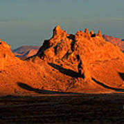 Trona Pinnacles Panorama Poster by Bob Christopher