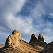 Trona Pinnacles Poster