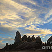Trona Pinnacles Windswept Poster