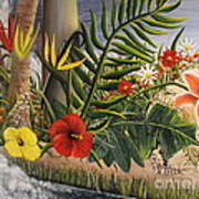 Tropical Beauty Poster