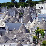 Truly Whimsical Trulli Poster