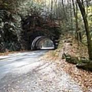 Tunnel Cades Cove Poster
