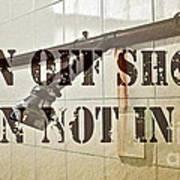 Turn Off Shower ... Poster