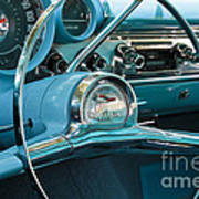 Turquoise Belair Poster