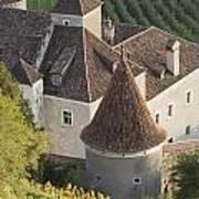 Turrets Schloss Goldrain Poster