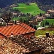 Tuscany Landscape 2 Poster