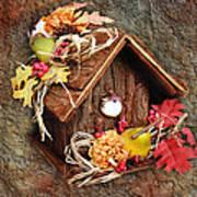 Tweet Little Bird House Poster by Andee Design