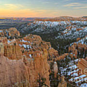 Twilight At Bryce Poster