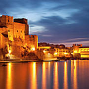 Twilight In Collioure Poster