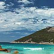 Two Peoples Bay Panorama Poster
