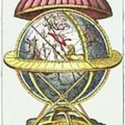 Tycho's Great Brass Globe Poster