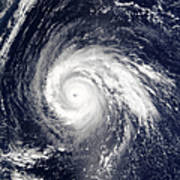 Typhoon Higos Poster