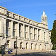 Uc Berkeley . Sather Tower Campanile . Wheeler Hall . South Hall Built 1873 . 7d10043 Poster