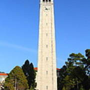 Uc Berkeley . Sather Tower . The Campanile . Clock Tower . 7d10059 Poster