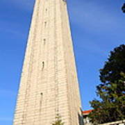 Uc Berkeley . Sather Tower . The Campanile . Clock Tower . 7d10086 Poster