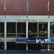 Uc Berkeley . Zellerbach Hall . 7d10013 Poster by Wingsdomain Art and Photography