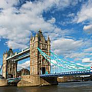 Uk, England, London, Tower Bridge Poster