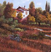 Una Bicicletta Nel Bosco Poster