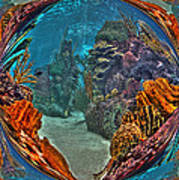 Under The Sea Fantasy World Poster