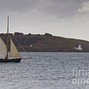 Under Way Reefed In Poster