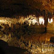 Underground Lake 02. Luray Caverns Va Poster