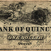 Union Banknote, 1861 Poster